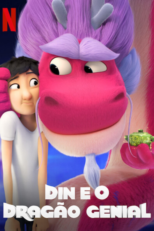 Din e o Dragão Genial Dublado