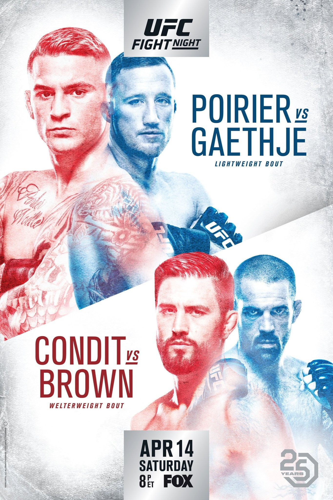 Ver UFC on Fox 29: Poirier vs. Gaethje Online HD Español ()