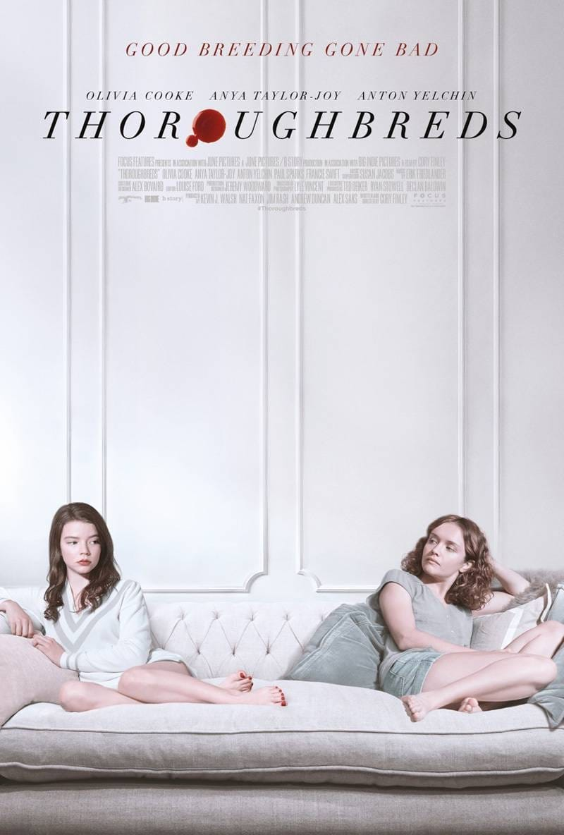 Poster and image movie Film Thoroughbreds - Thoroughbreds 2018