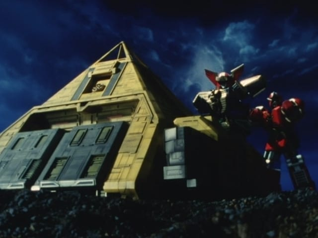 Super Sentai Season 19 :Episode 28  Behold! The Miracle Fortress!
