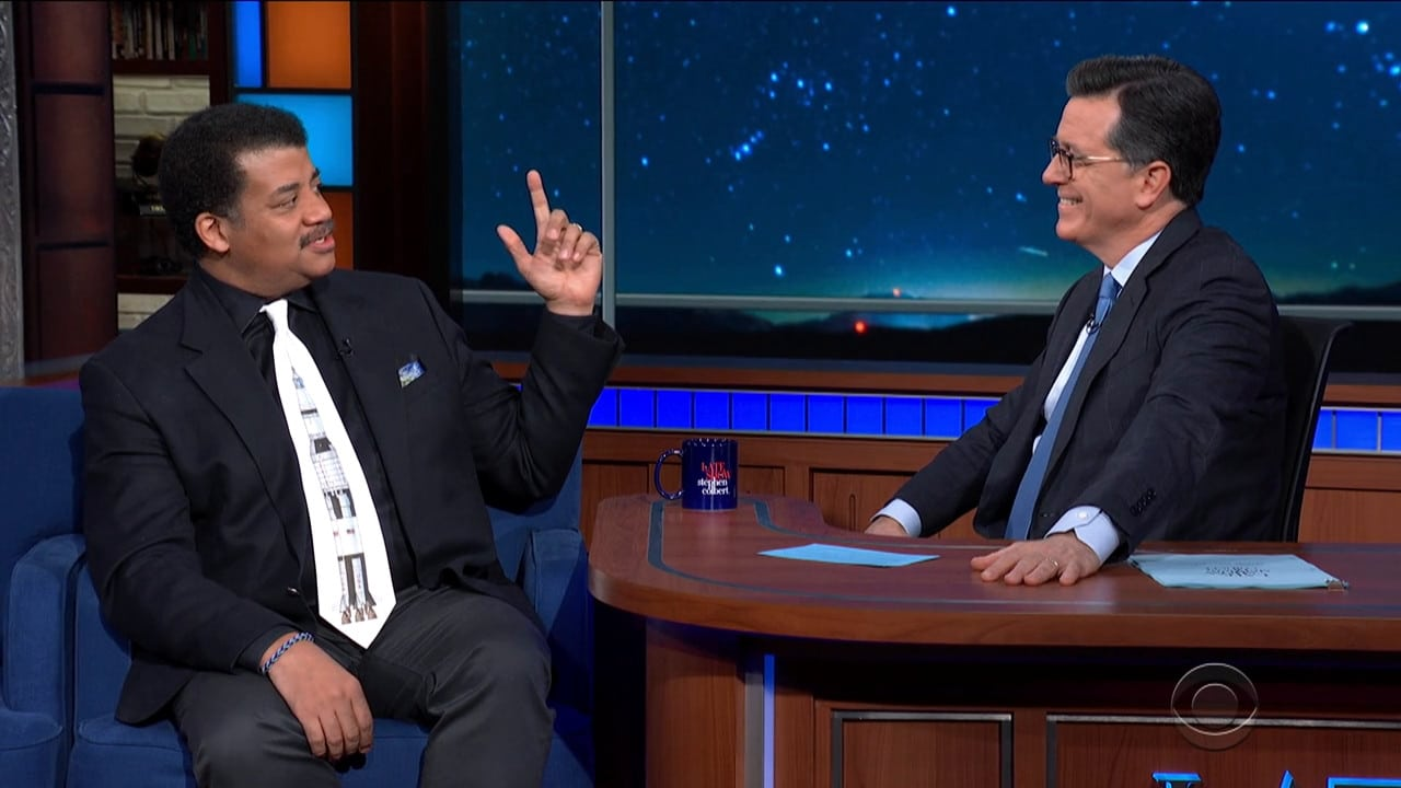 The Late Show with Stephen Colbert Season 5 :Episode 100  Neil deGrasse Tyson / Hannah Einbinder