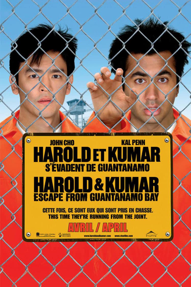 Harold et Kumar s'évadent de Guantanamo streaming sur libertyvf