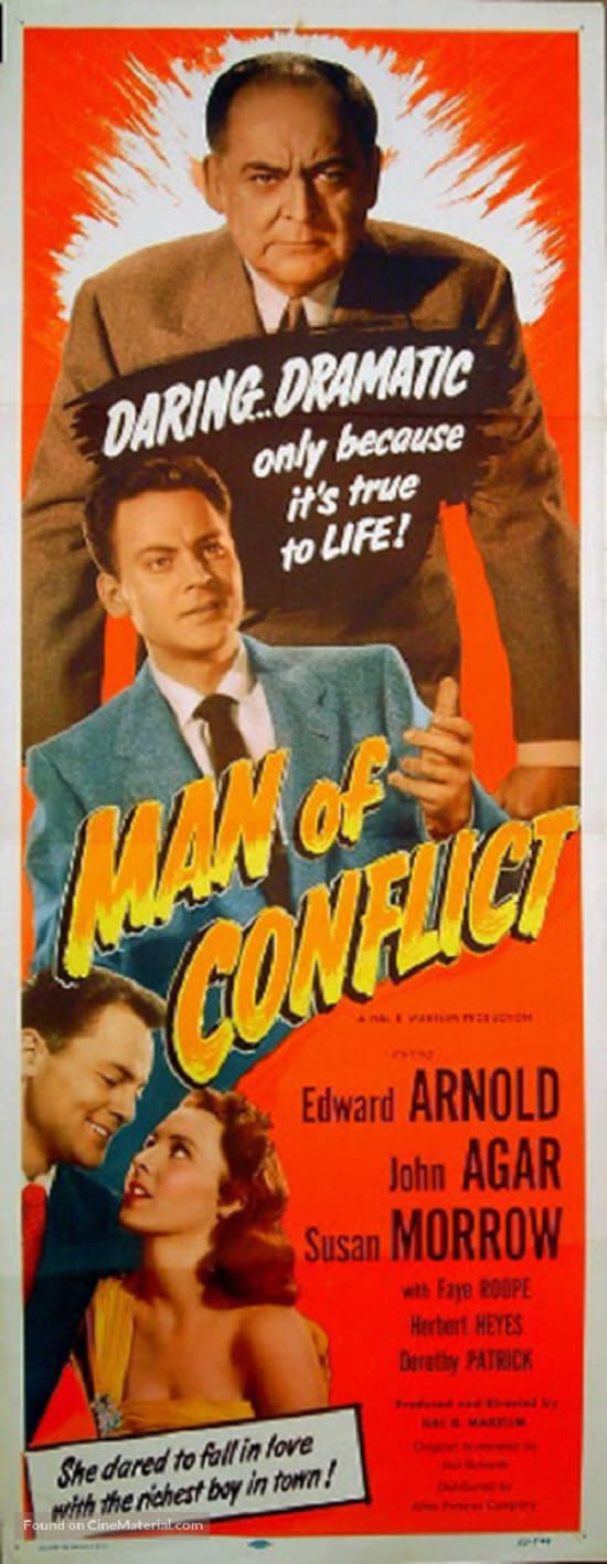 Man of Conflict poster