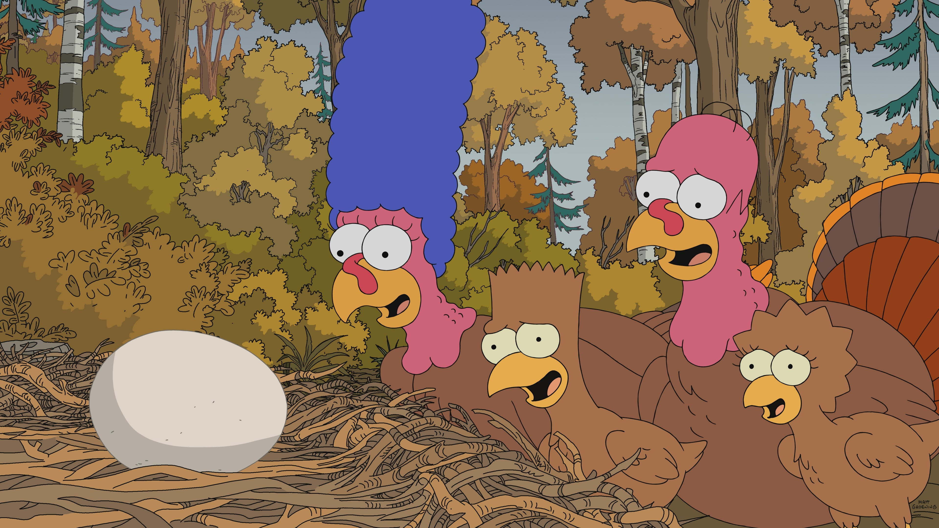 The Simpsons Season 31 :Episode 8  Thanksgiving of horror