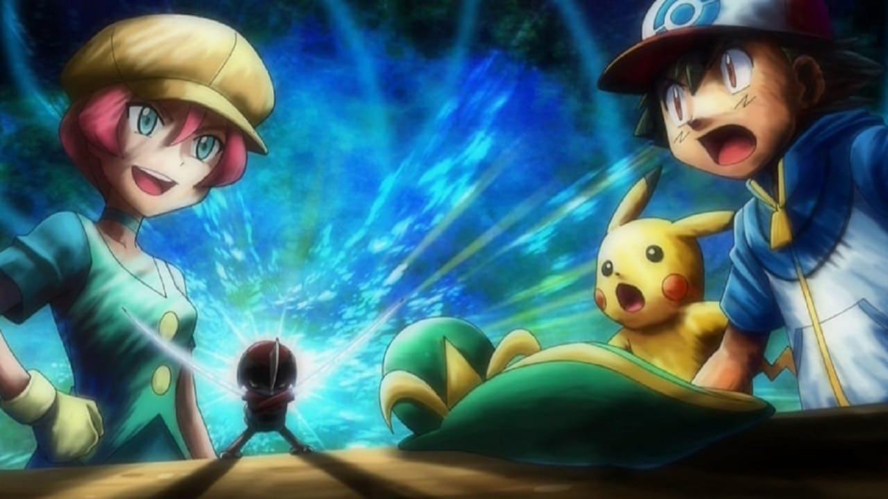 Pokémon Season 14 :Episode 40  Cilan Versus Trip, Ash Versus Georgia!