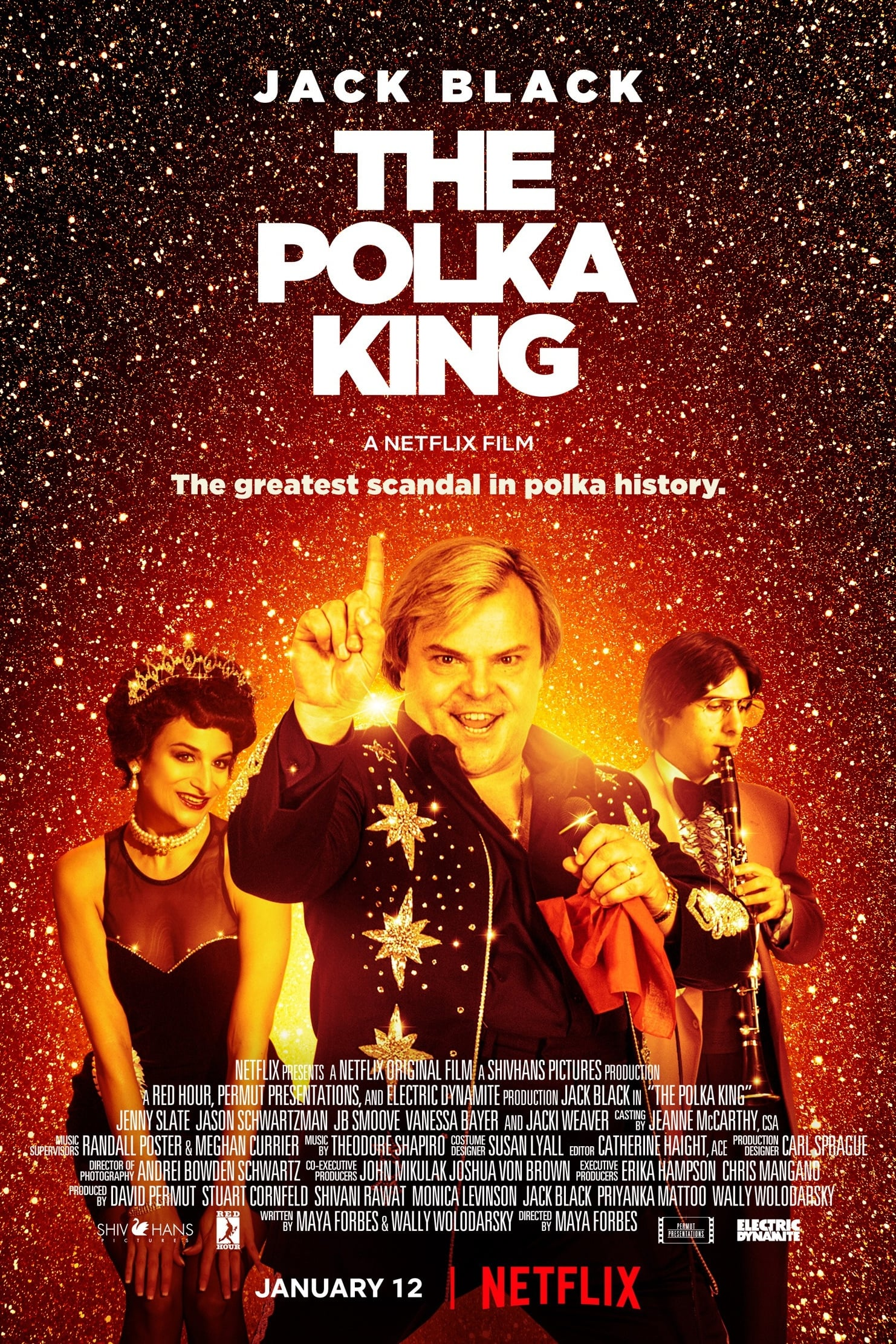 Póster The Polka King