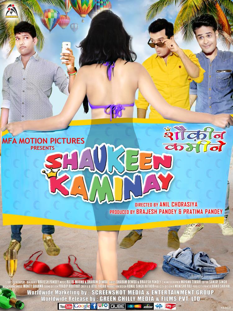 Ver Shaukeen Kaminay Online HD Español (2016)