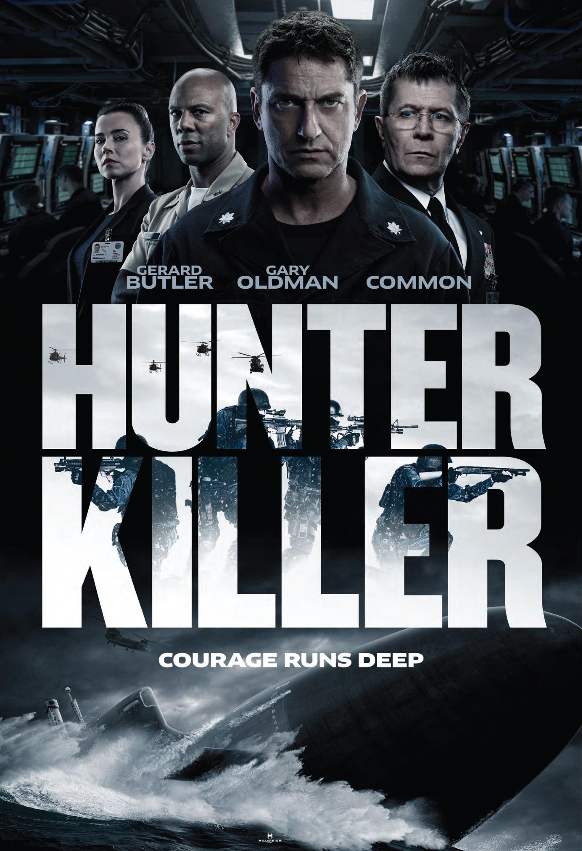 Poster and image movie Film Hunter Killer - Hunter Killer - Hunter Killer -  2017