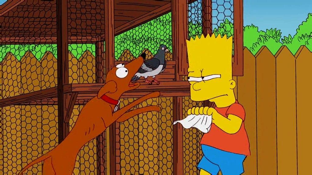 Die Simpsons Season 22 :Episode 7  Eine Taube macht noch keinen Sommer
