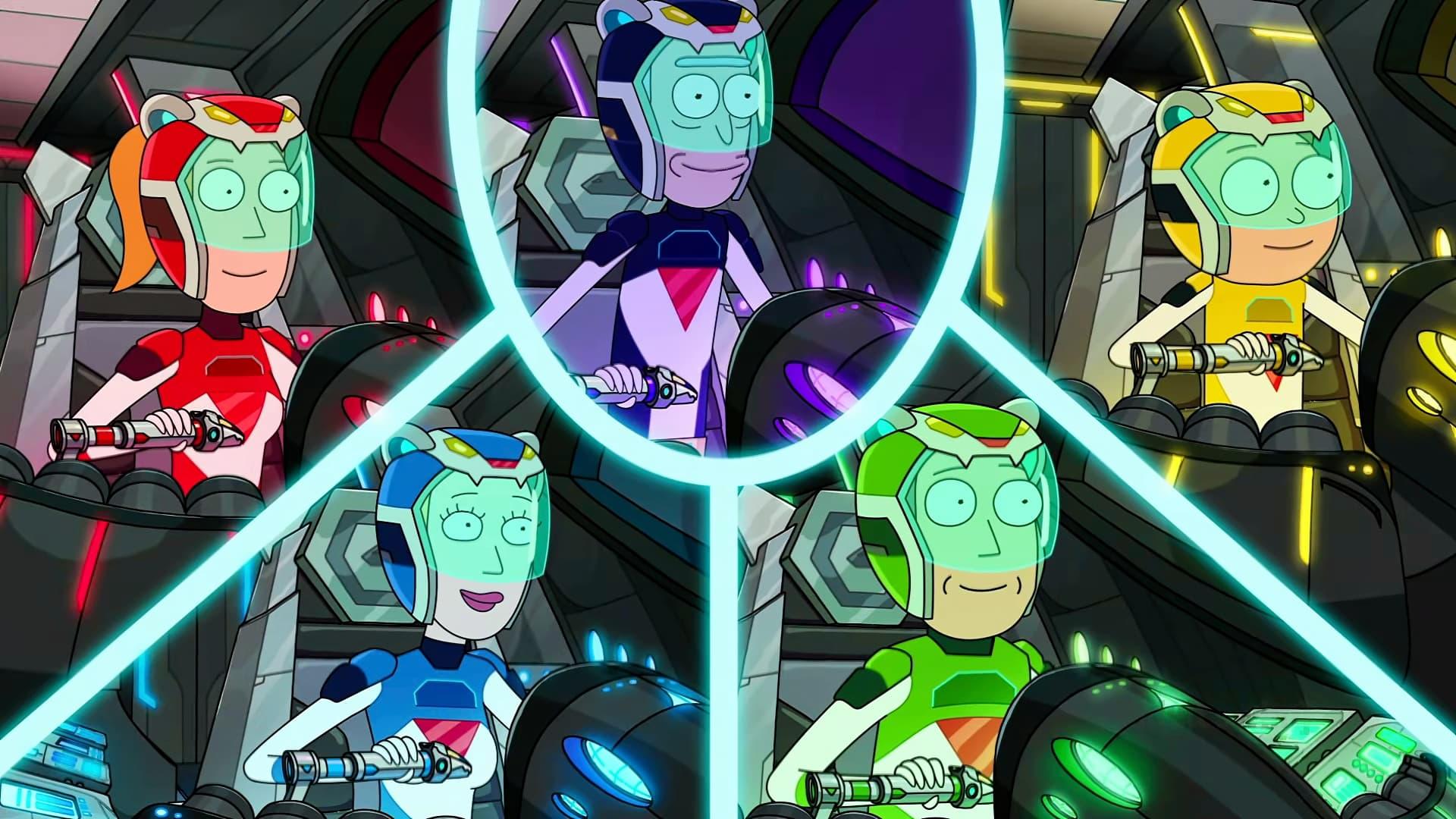 Rick and Morty Season 5 :Episode 7  Gotron Jerrysis Rickvangelion