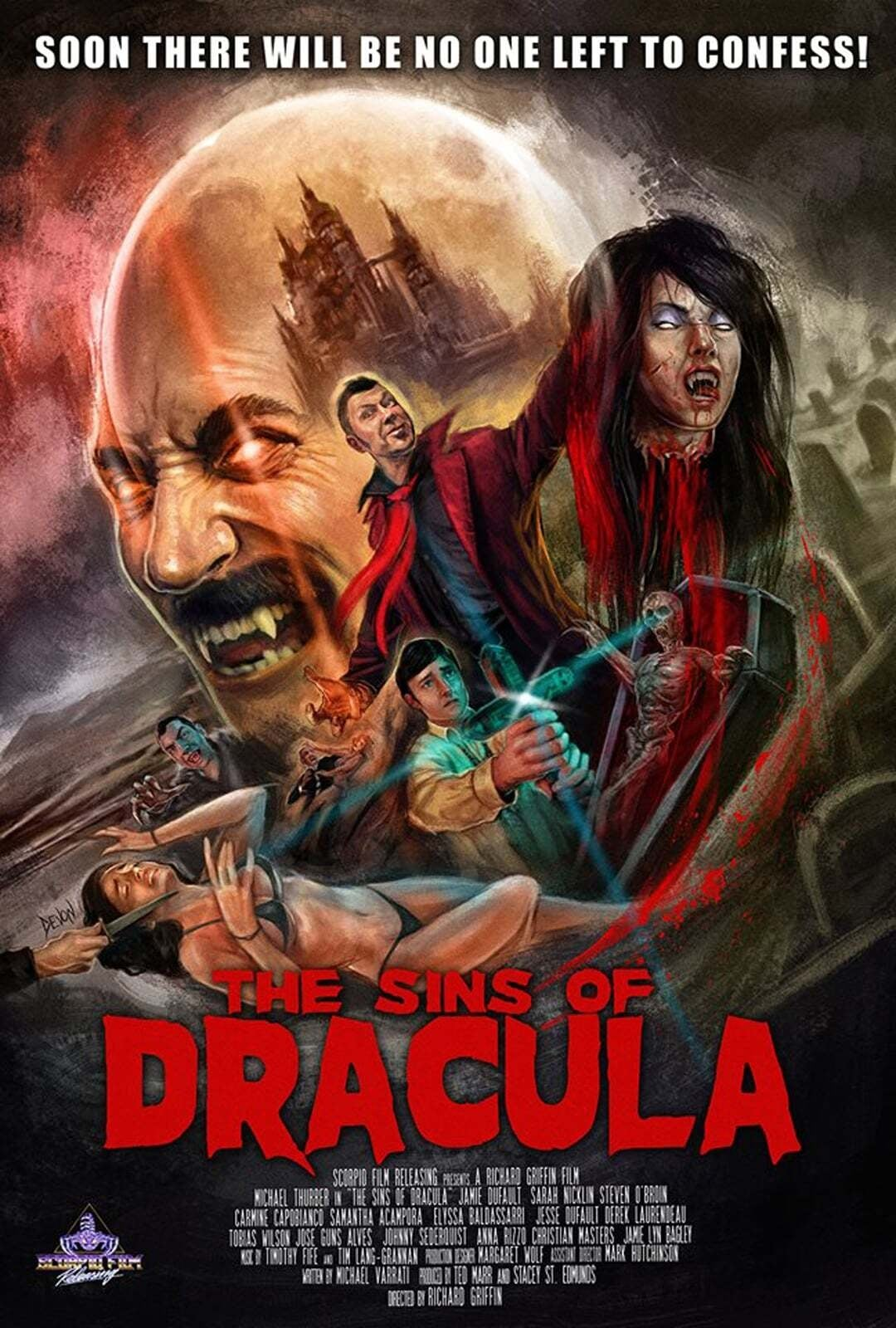 The Sins of Dracula on FREECABLE TV