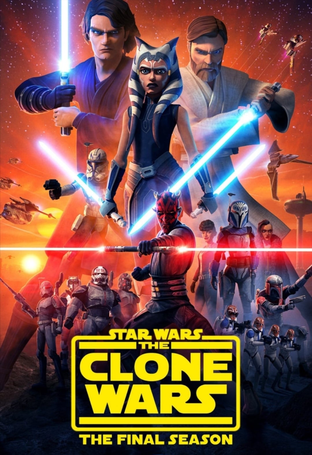 star wars the clone wars - the siege of mandalore (2020)