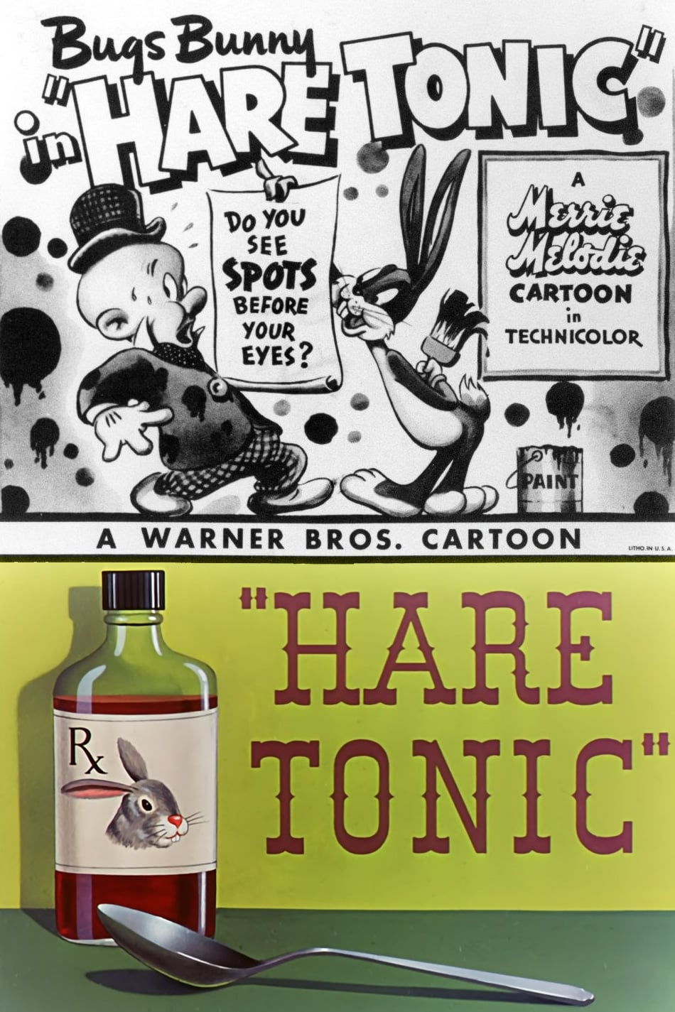 hare tonic 1945 posters the movie database tmdb. Black Bedroom Furniture Sets. Home Design Ideas