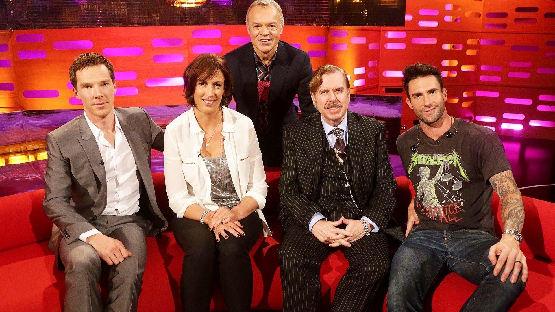 The Graham Norton Show Season 16 :Episode 5  Benedict Cumberbatch, Timothy Spall, Miranda Hart, Maroon 5
