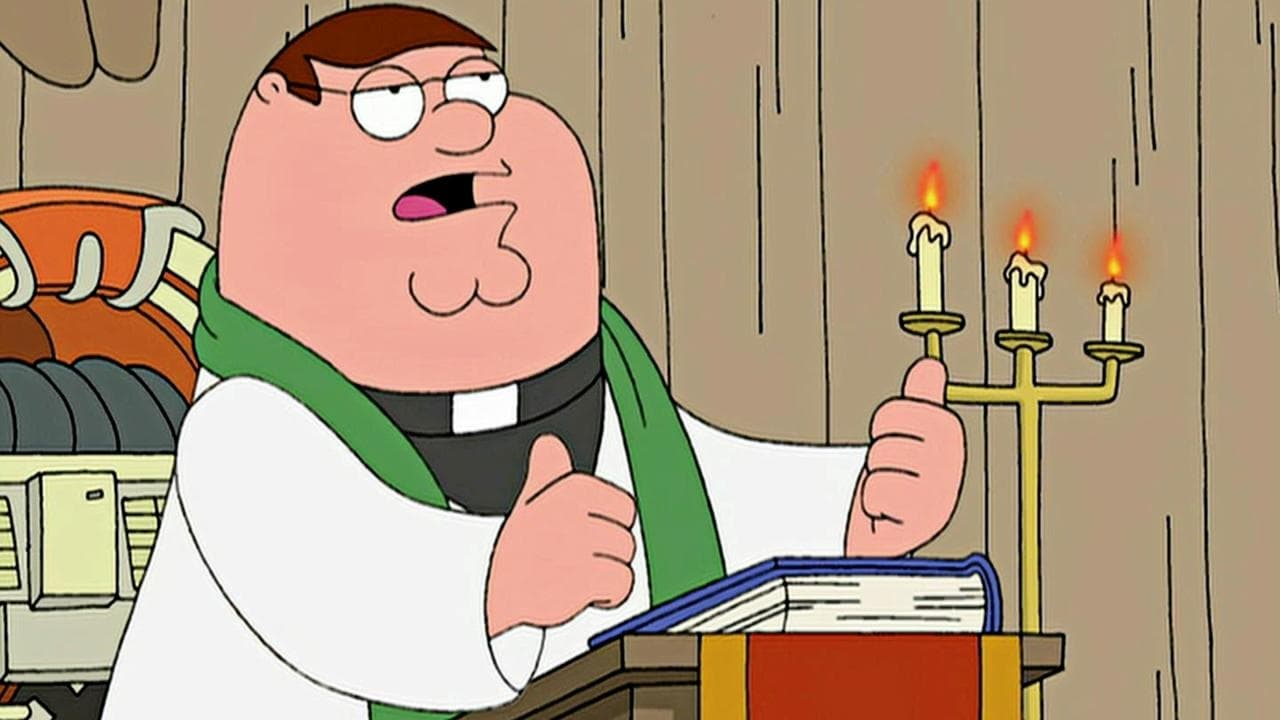 Family Guy Season 4 :Episode 18  The Father, the Son, and the Holy Fonz