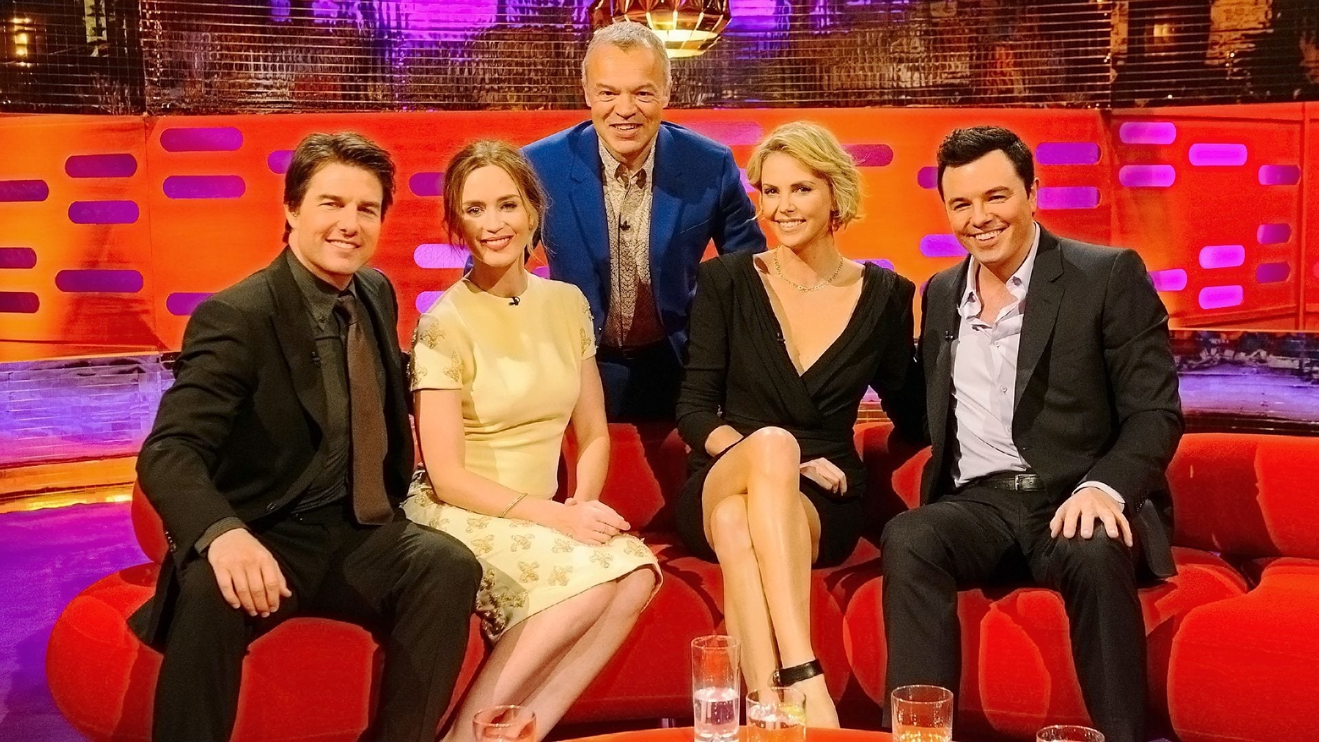 The Graham Norton Show Season 15 :Episode 9  Tom Cruise, Emily Blunt, Charlize Theron, Seth McFarlane