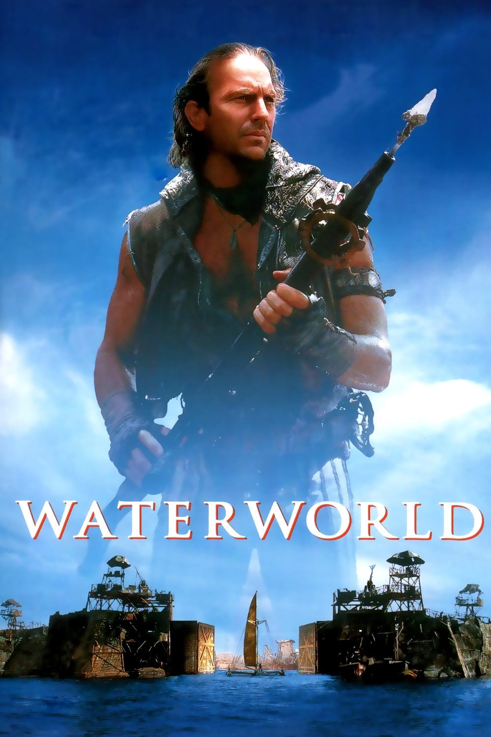 Póster Waterworld
