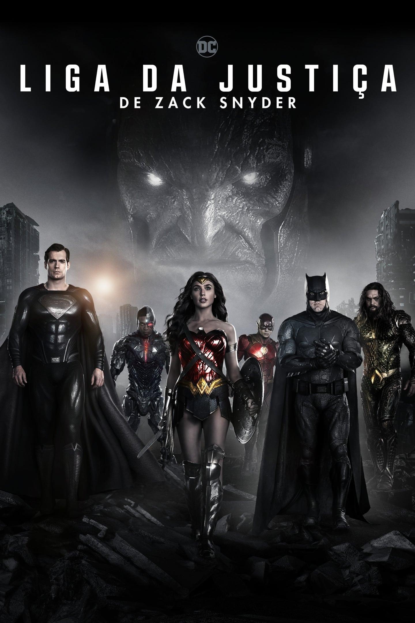 Liga da Justiça de Zack Snyder Dublado