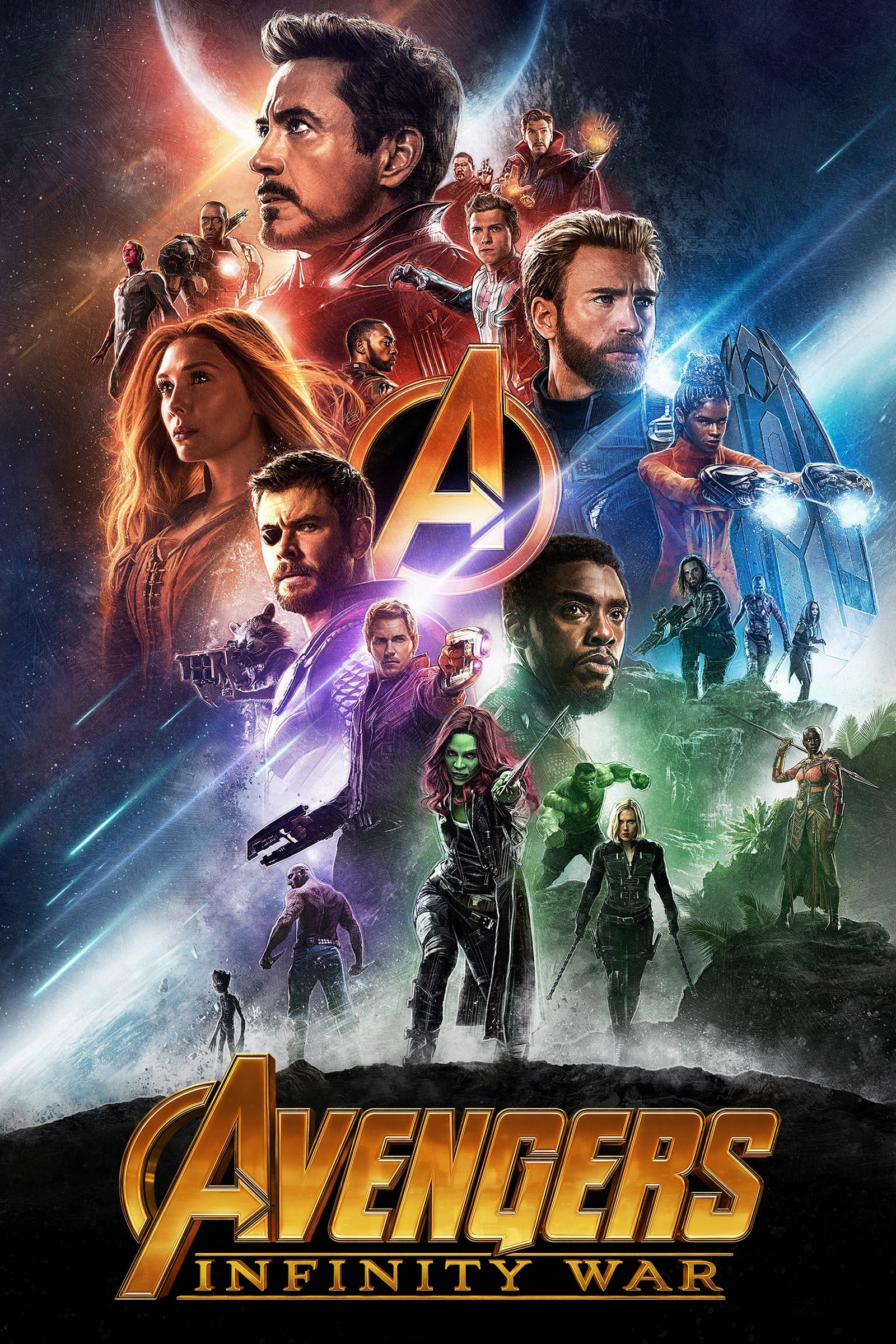 Avengers: Infinity War (2018) [Hindi 5.1+English 5.1] | x265 10Bit BluRay | 1080p | 720p | 480p | Download | Watch Online | GDrive | Direct Links