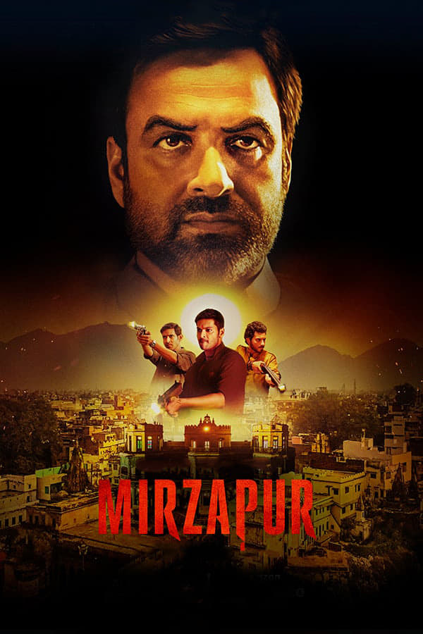 Mirzapur S01 2018 1080p AMZN WEB-DL DDP5.1 (Hindi-Tamil-Telugu) H264-Telly [28.23 GB]