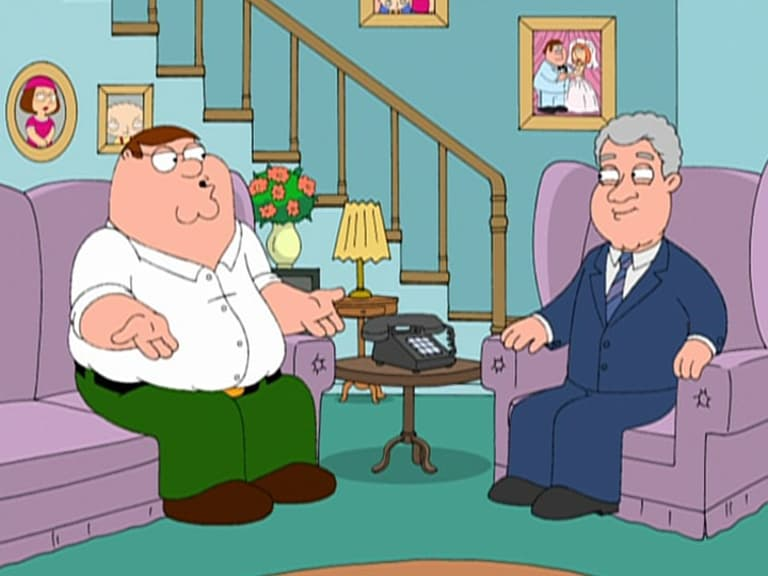 Family Guy Season 5 :Episode 13  Bill & Peter's Bogus Journey