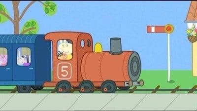 Peppa Pig Season 3 :Episode 18  The Train Ride