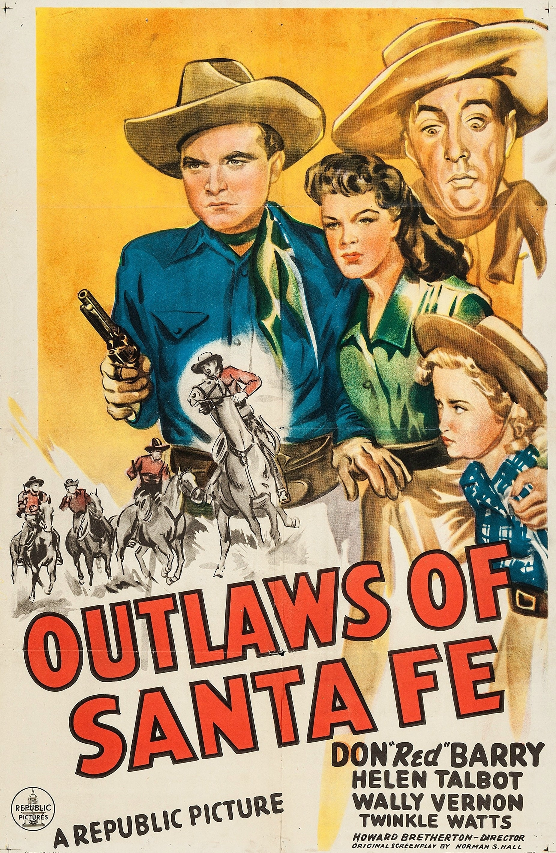 Outlaws of Santa Fe poster