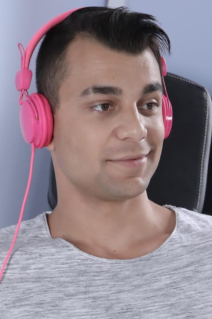 Sweet gay guy solo masturbation