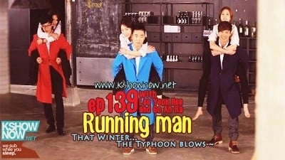 Running Man Season 1 :Episode 139  That Winter.. the Typhoon Blows