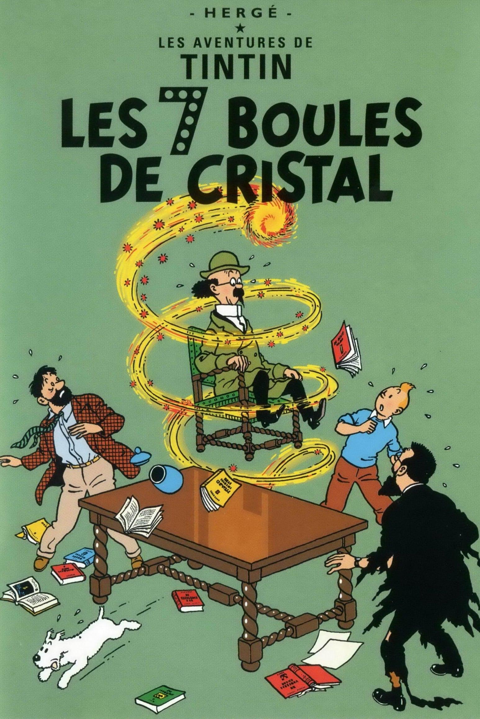 Les Aventures De Tintin 11 Les Sept Boules De Crystal - 1992