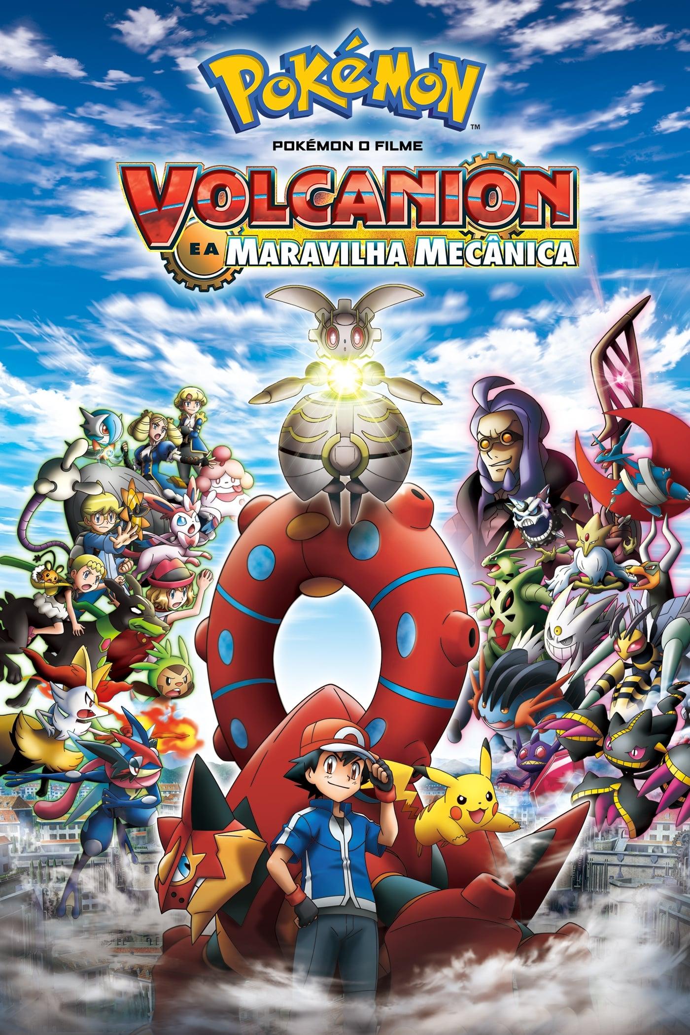 Pokémon o Filme: Volcanion e a Maravilha Mecânica – Dublado (2016)