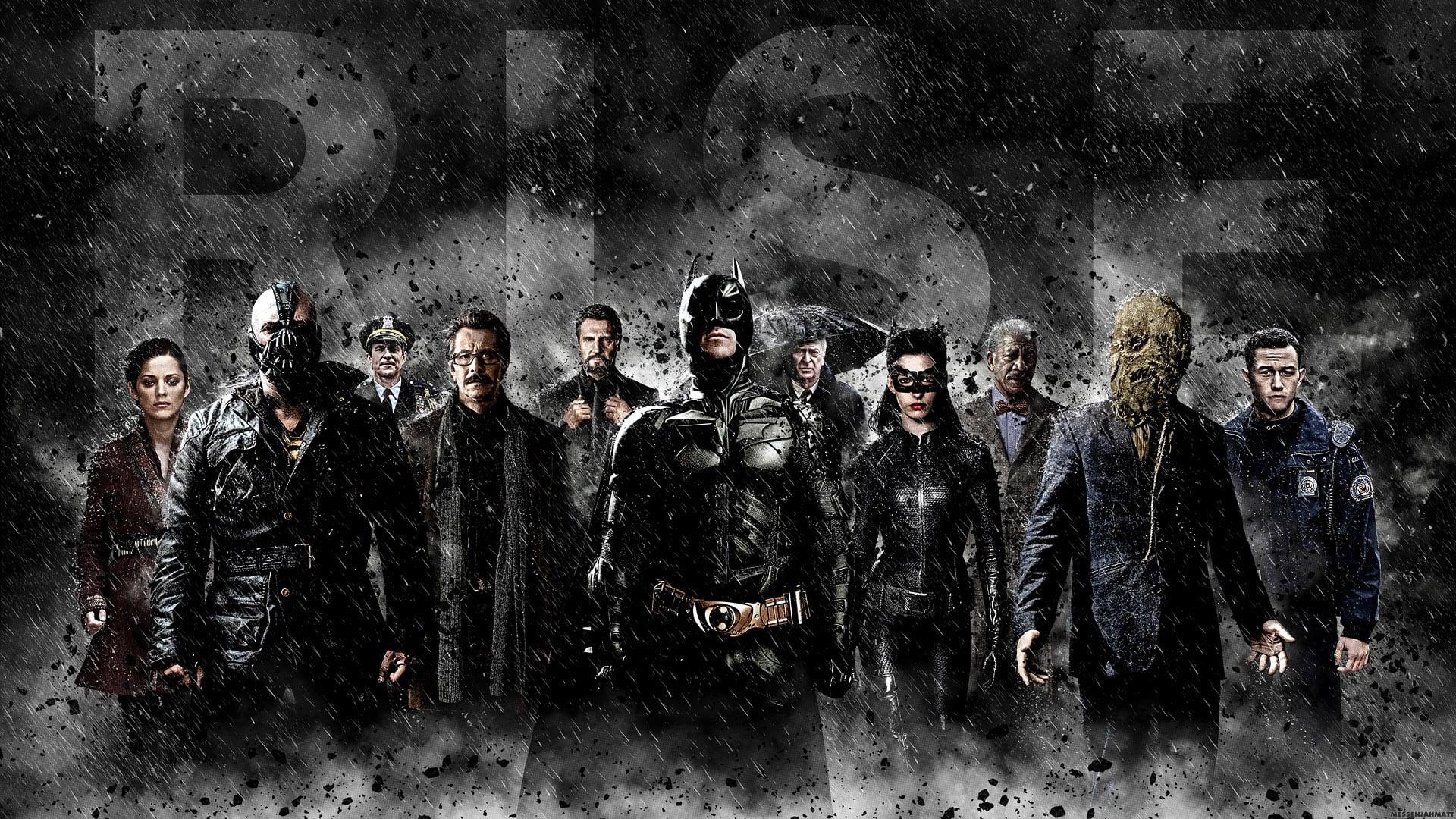 Filmszene aus The Dark Knight Rises