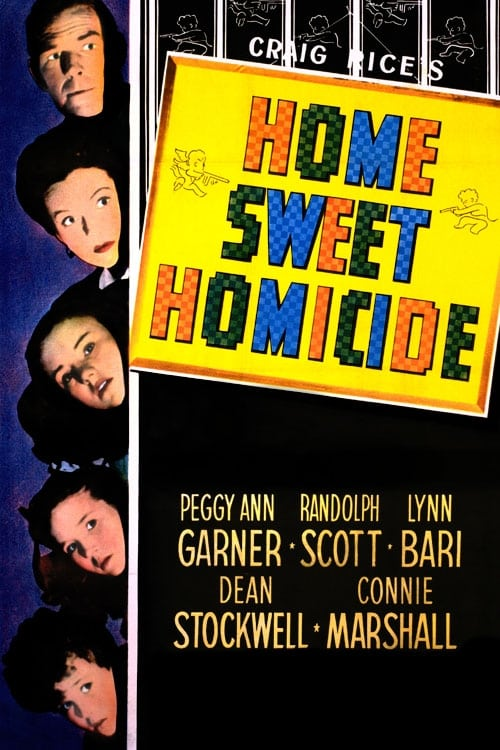 Home Sweet Homicide poster