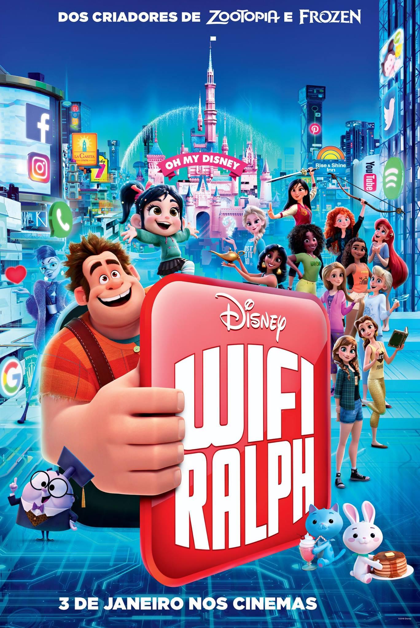 WiFi Ralph – Quebrando a Internet Dublado