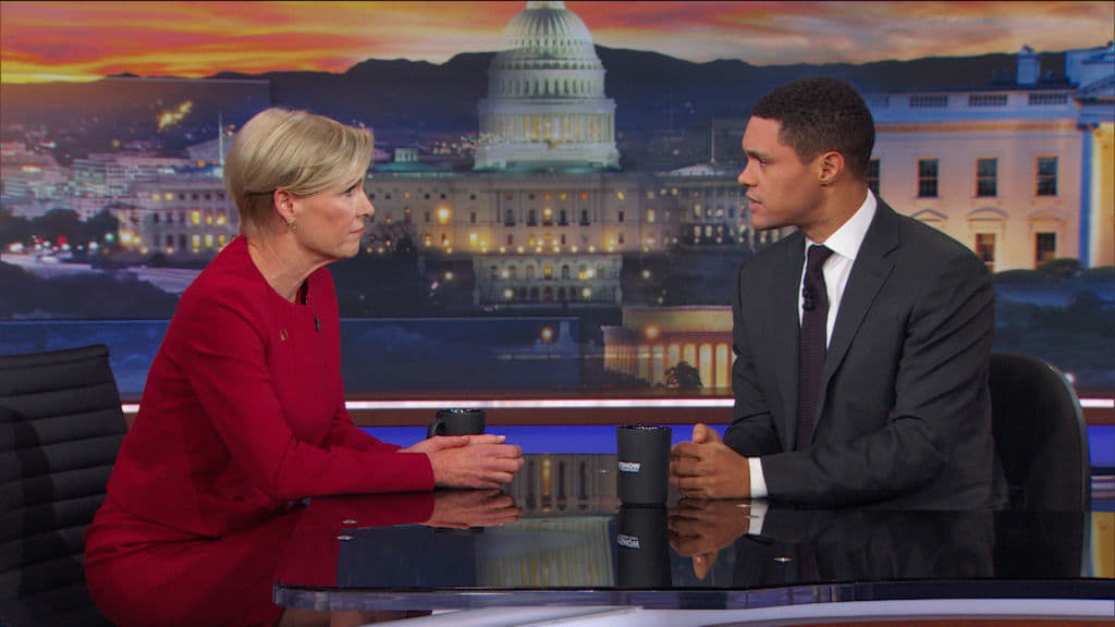 The Daily Show with Trevor Noah Season 23 :Episode 51  Cecile Richards