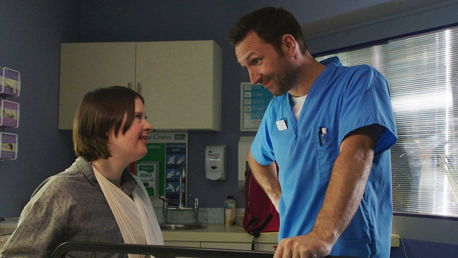 Casualty Season 27 :Episode 14  My Aim Is True