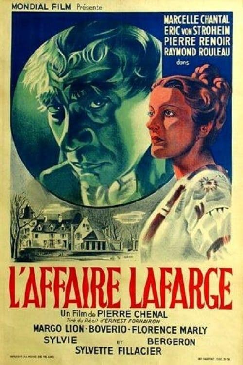 Ver L'affaire Lafarge Online HD Español (1938)