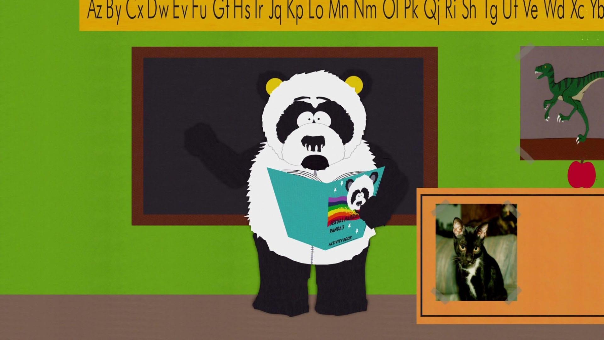 Панда сексуальное домагательство