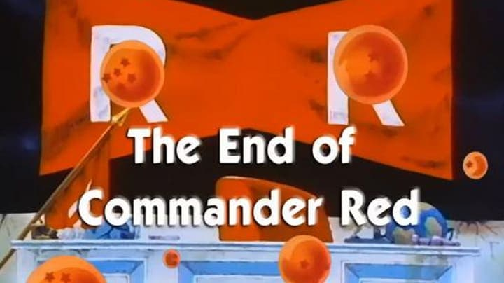 Dragon Ball Season 1 :Episode 67  The End of Commander Red