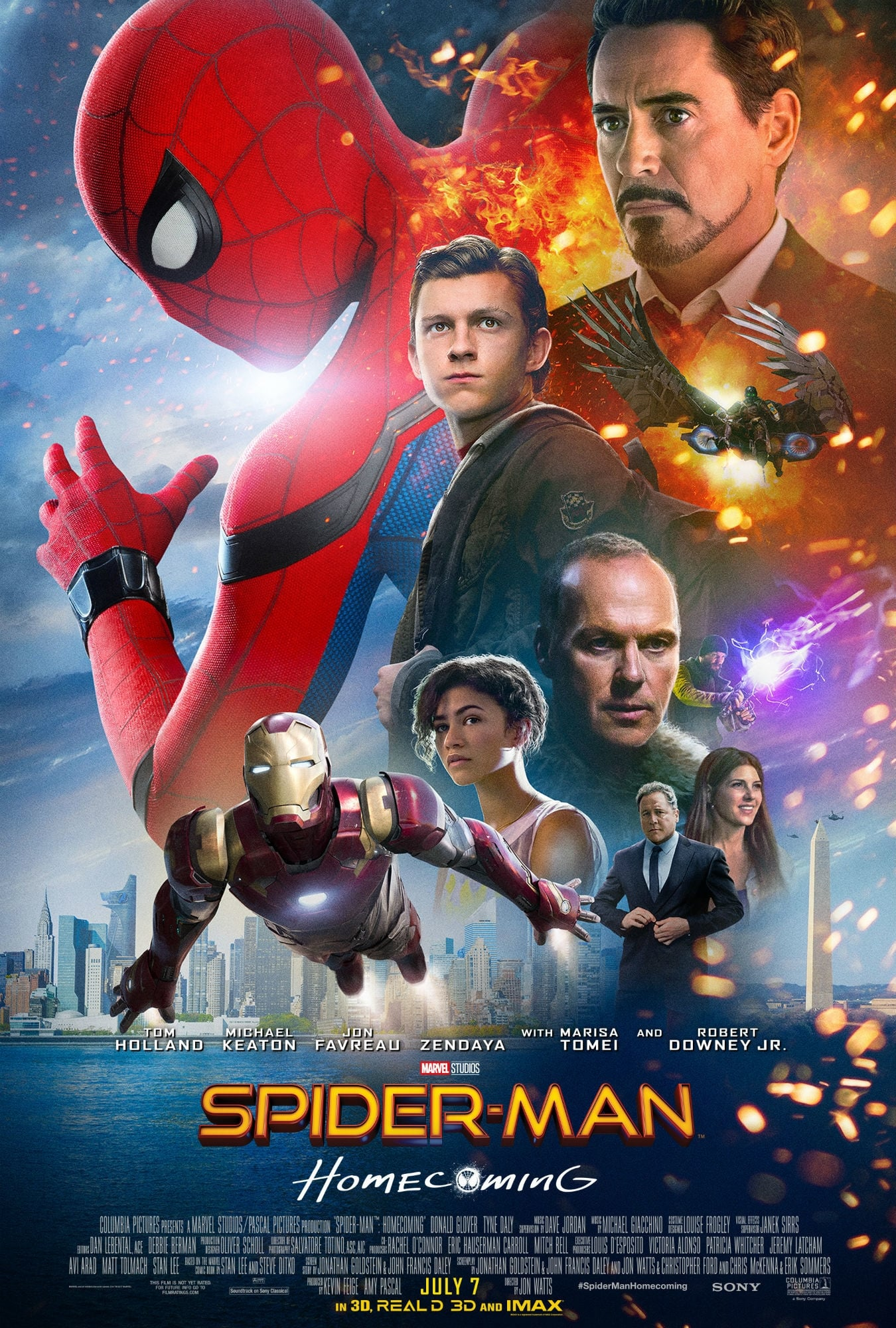 Watch Full Movie Online And Download Spider-Man: Homecoming (2017)