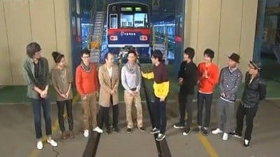 Running Man Season 1 :Episode 15  Seoul Metro Subway Yard