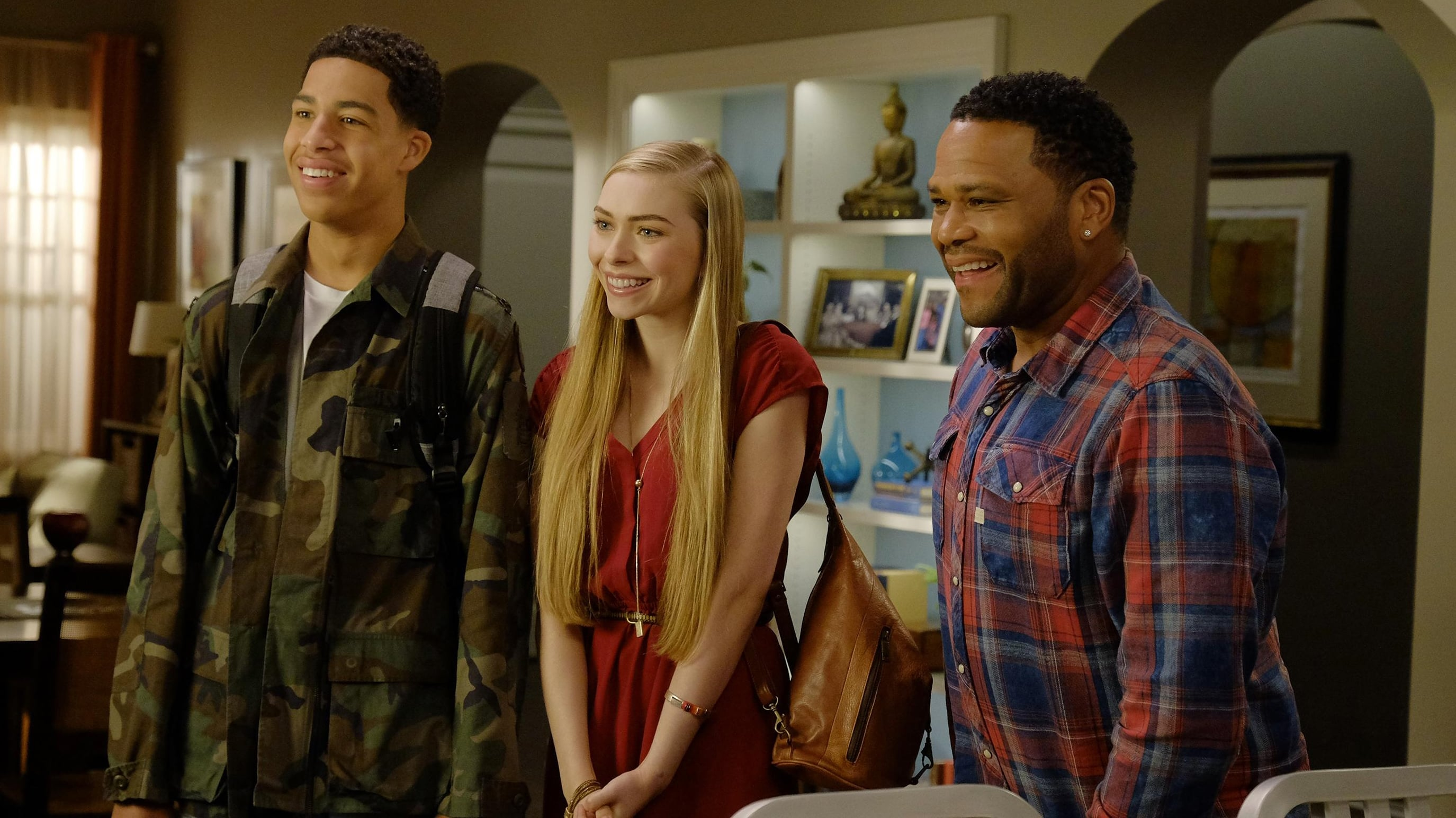 black-ish Season 3 :Episode 8  Being Bow-racial