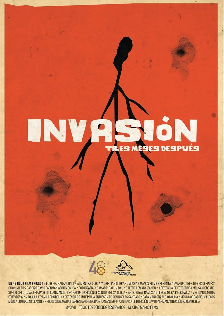 Invasion, three months after. (2018)