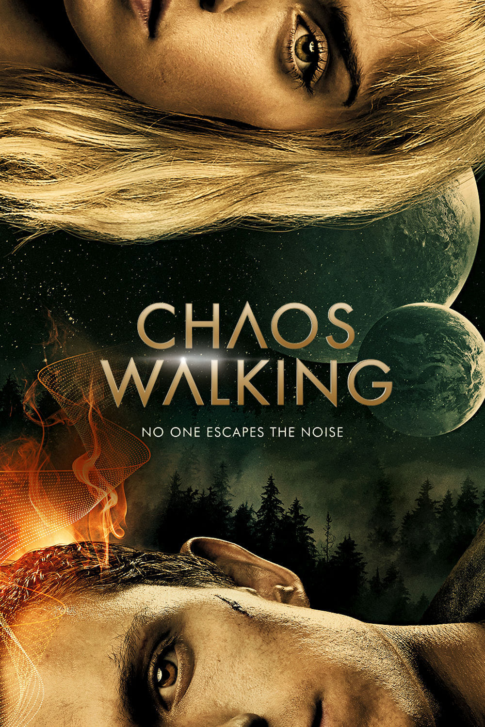 Poster and image movie Chaos Walking