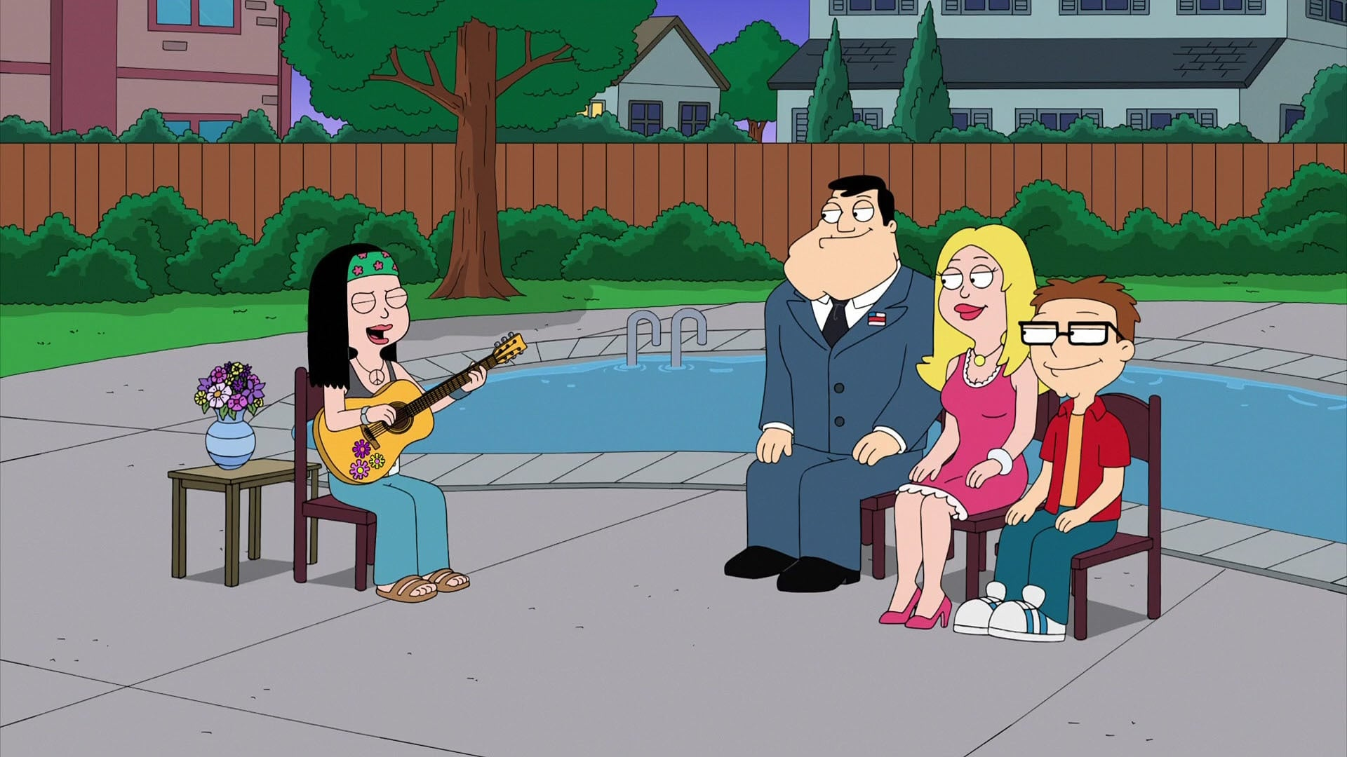 American Dad! Season 14 :Episode 1  Father's Daze