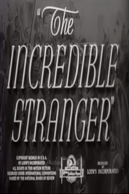 The Incredible Stranger (1942)
