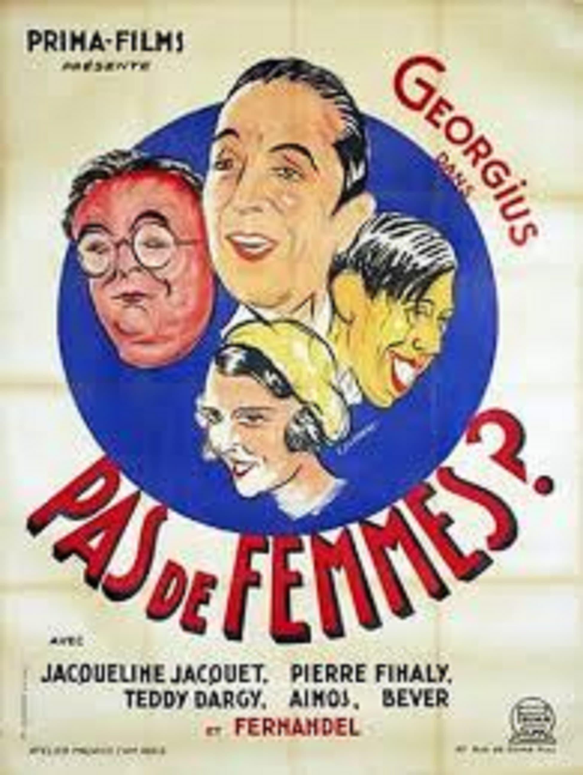 Ver Pas de femmes (1932) Online HD Español (1932)