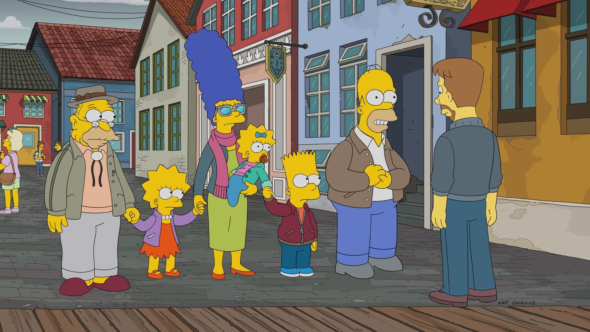The Simpsons Season 29 :Episode 20  Throw Grampa from the Dane