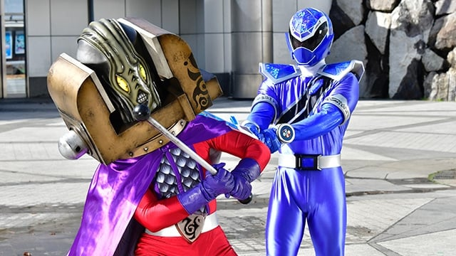 Super Sentai Season 44 :Episode 3  Vise Guy! Your Opinions Are Not Needed