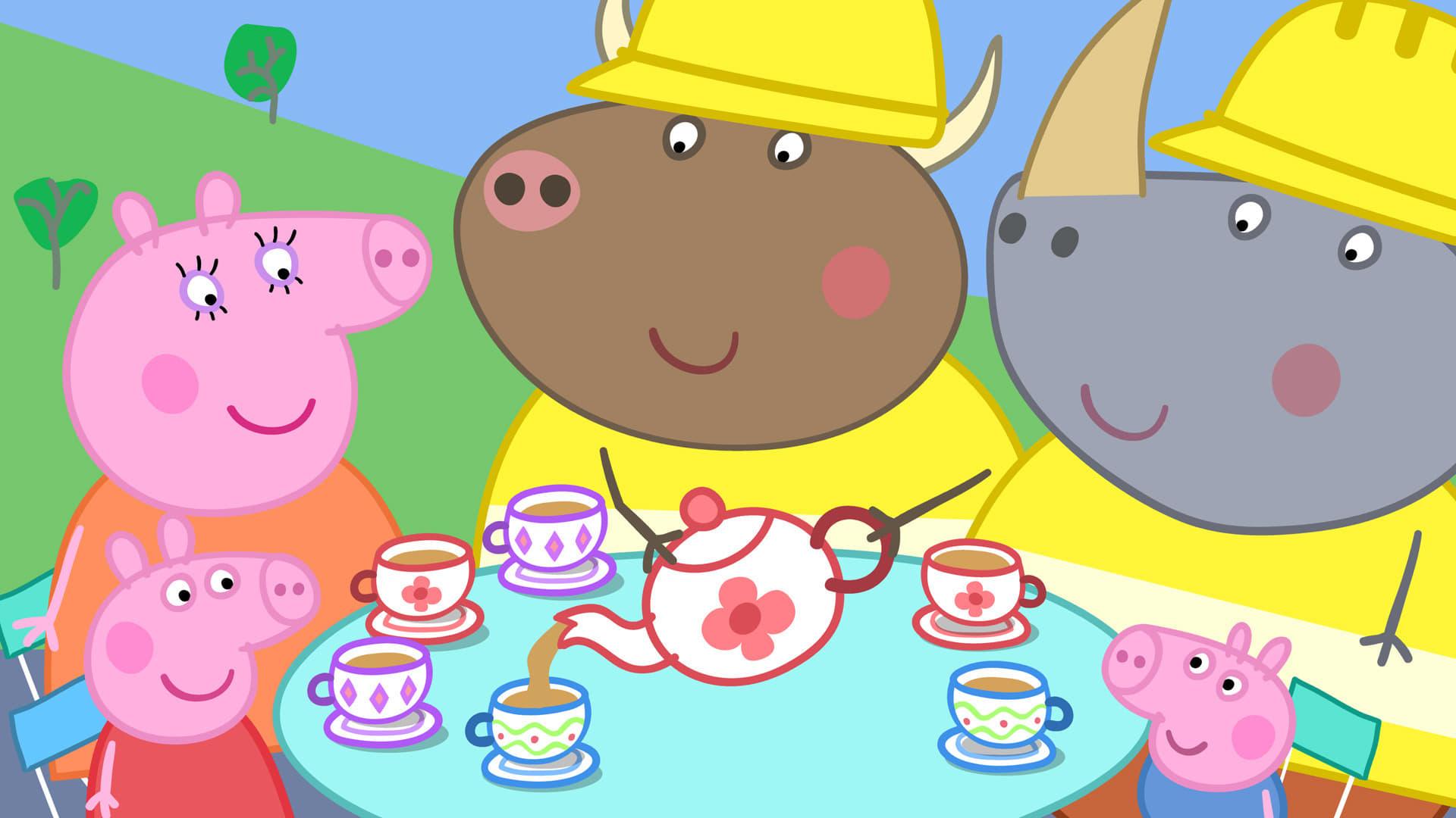 Peppa Pig Season 4 :Episode 44  Mr Bull In A China Shop